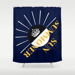 Sun Summoner Shower Curtain