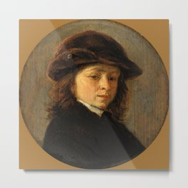 "Frans Hals ""Portrait of a boy"" Metal Print"