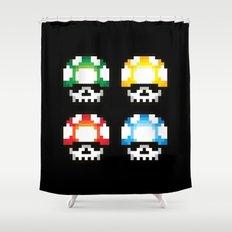 Skull Mushroom Shower Curtain