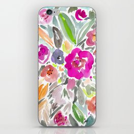 Bravery Floral iPhone Skin