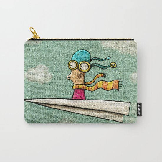 Paperplane2 Carry-All Pouch