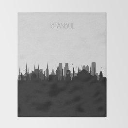 City Skylines: Istanbul Throw Blanket