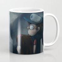 gravity falls Mugs featuring Gravity Falls Oregon by Smaug