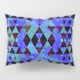 Pretty pattern blue Pillow Sham
