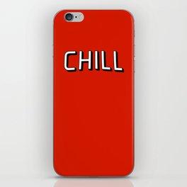 Chil iPhone Skin