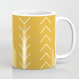 V / Yellow Coffee Mug