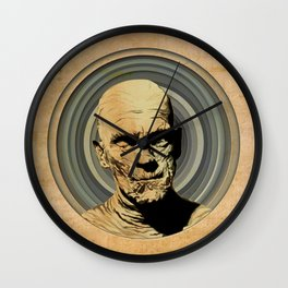 The Moody Mummy Wall Clock