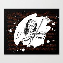 Paganini (2) Canvas Print