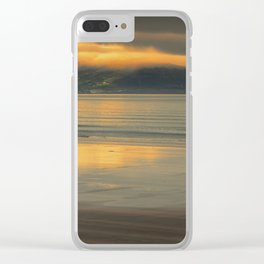 Walking Towards The Light Clear iPhone Case