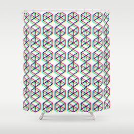CuBoxTrip V1 Shower Curtain