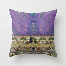 new earth rituals Throw Pillow