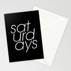 Saturdays  Stationery Cards