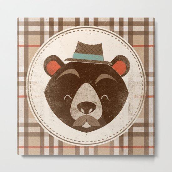 Uncommon Creatures - Bear Metal Print