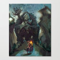 Mountain Troll  Canvas Print