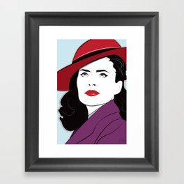 Nagel Style Carter Framed Art Print