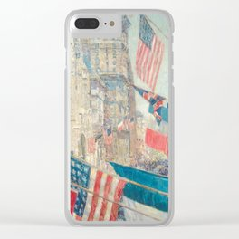 Allies Day, May 1917 by Childe Hassam Clear iPhone Case