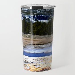 Castle Geyser-Yellowstone Travel Mug