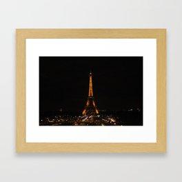 Eiffel Tower (2) Framed Art Print