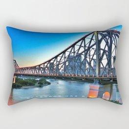 Brisbane has a Story Rectangular Pillow