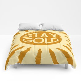 Stay Gold Comforters