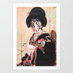 Geisha (2014) Art Print