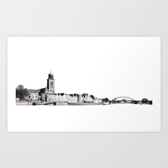 Deventer Art Print