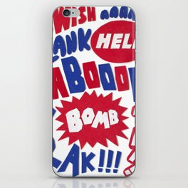 Superpop iPhone Skin
