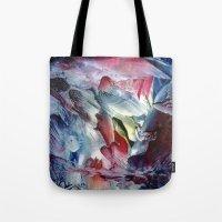 angel Tote Bags featuring Angel  by ART de Luna