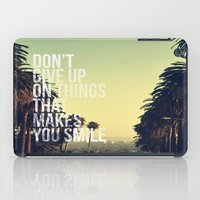 quotes iPad Cases featuring QUOTES by magdam