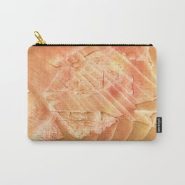 Sandy brown vague watercolor Carry-All Pouch