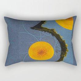 Aquamarina Three Rectangular Pillow