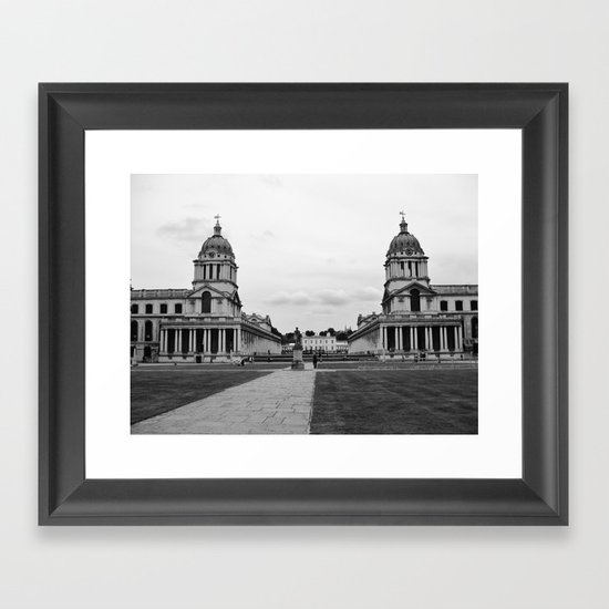 Greenwich Maritime Museum, London Framed Art Print