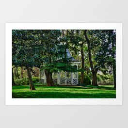 Harrison Gazebo Art Print