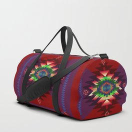 southwest dream in wine Duffle Bag