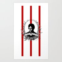 will graham Art Prints featuring Will Graham by JM London