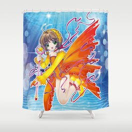 Sakura Kinomoto (Fish Dress) Shower Curtain