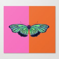 Hal Color Block Canvas Print