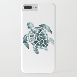 Sea Turtle - Turquoise Ocean Waves iPhone Case