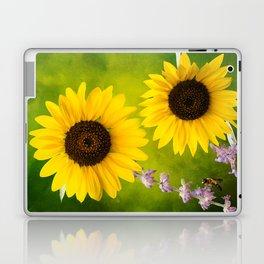 Sunflowers. Laptop & iPad Skin