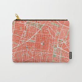 Mexico city map classic Carry-All Pouch
