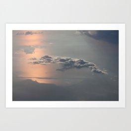 Sailing the Clouds Art Print