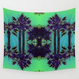 Hawaiian Neon Summer Nights Wall Tapestry