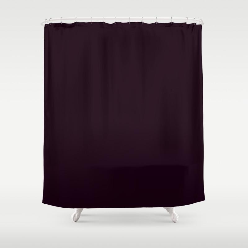 eggplant shower curtain - urevoo