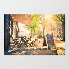 Swedish Sunsets & Coffee Canvas Print