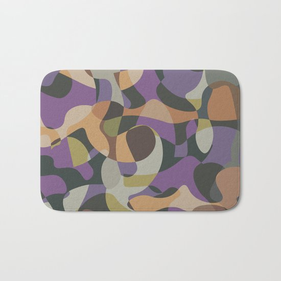 Camouflage XXXVII Bath Mat