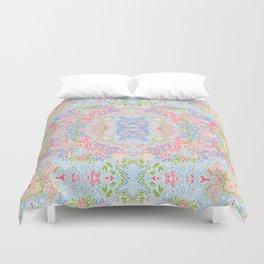 Pastel paisley Duvet Cover