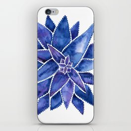 Aloe Vera – Navy Palette iPhone Skin