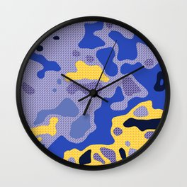 Camo 117 Wall Clock