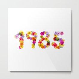 All Color Flower 1985 Metal Print