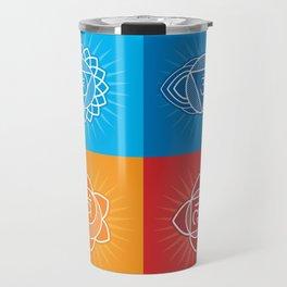 Chakras Travel Mug